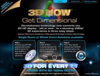 理論上不可能有的產品:3D NOW將2D電視變3D