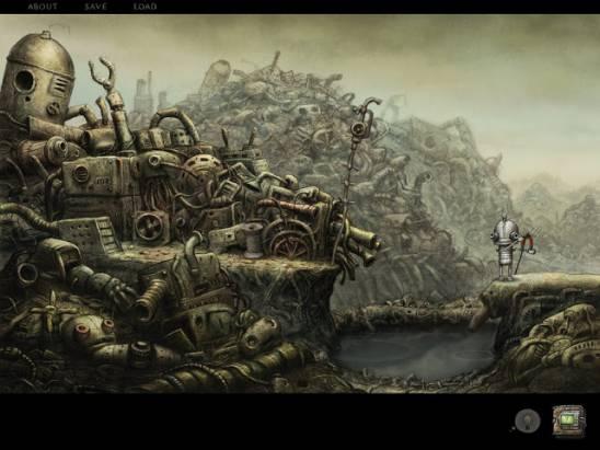 iPad 2 專屬遊戲,一趟充滿益智與視聽饗宴的小小大冒險: Machinarium