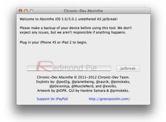 iPhone 4S 與 iPad 2 完美 JB(A5 JailBreak)終於推出
