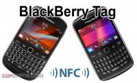 基於 NFC 的 BlackBerry Tag 在 CES 2012 展示
