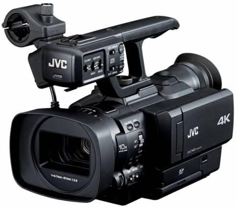 準備好迎接 4K 影像世代了嗎? JVC 發表首款 4K 不可換鏡頭攝影機