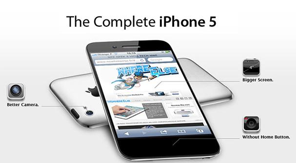 Iphone 5 將會怪獸式的新設計