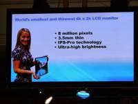 Panasonic 發布 4K2K 20 吋 IPS 螢幕