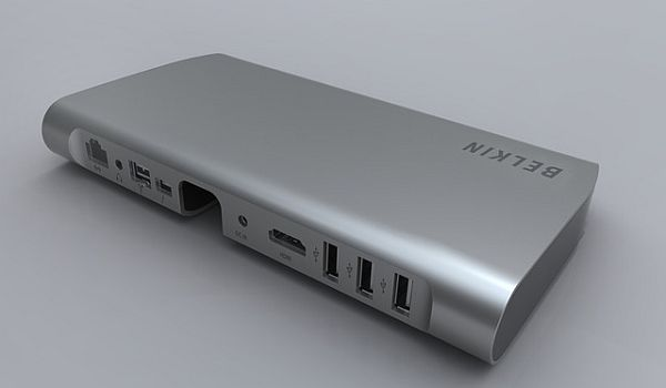Belkin 推出 ThunderBolt 擴充底座,要價美金299元