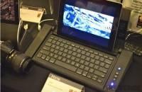 iHome iDM5結合鍵盤 喇叭以及麥克風,看來是以補全平板機能為目標就是了