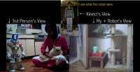 Kinect 與 Wii 控制器攜手,只為遙控機器人