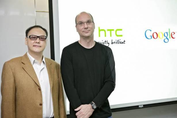 Android 之父來台為 HTC 加油打氣了!