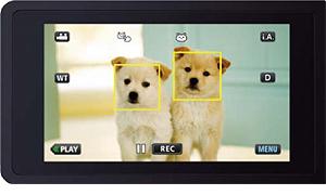 JVC 全新 Everio 攝影機首創貓犬辨識功能!