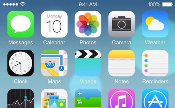 不只加多一行Apps: iPhone 6 運行 iOS 8 截圖或曝光