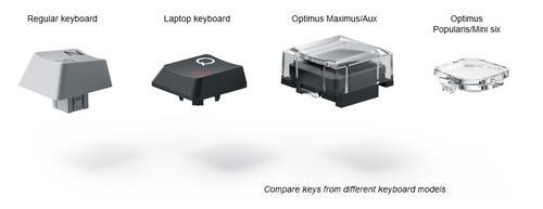 鍵界之書21:從RF與Optimus來談談鍵盤的再創造