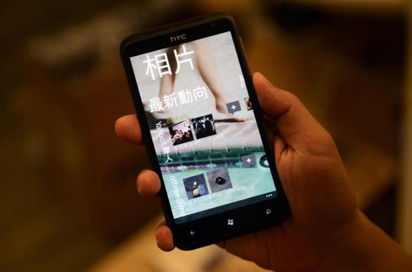 100年資訊月:HTC Titan 智慧型手機