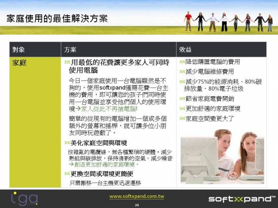 SOFTXPAND 2011支援無限數量的工作站,工作站數量的唯一制約因素為硬體效能