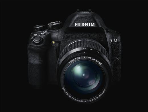 Fujifilm 發表 X-S1 準專業相機,具有 EXR CMOS 與26倍變焦