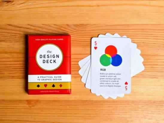 小賭兼學習,平面設計師專屬撲克牌