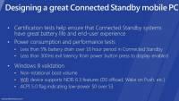 Windows 8 平板的待機耗電基準是16小時減少 5% !?