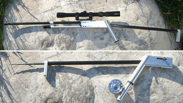 藏身於民宅之七武器又一候選 - 釣竿狙擊槍