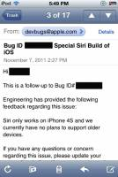 Apple:我們目前沒有打算將Siri放到舊的iDevice中