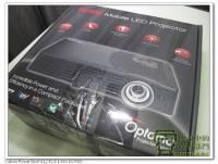 『實測』500 流明的 LED 微型投影機 Optoma ML500