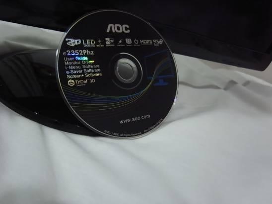 AOC 3D螢幕爽爽看片不負責開箱
