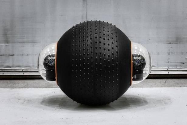 瑞典3D影像無人地面載具,可拋耐摔運作無聲