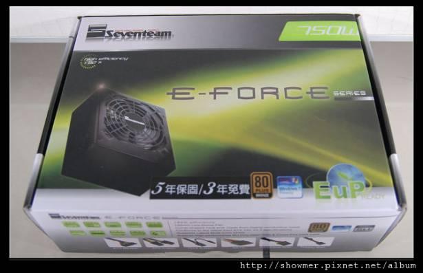 Seventeam 七盟 E-Force 750W 過手小玩