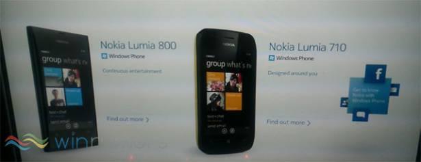 Nokia Lumia 800、Lumia 710 產品介紹流出...