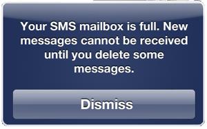 iOS 5 將 SMS 簡訊儲存容量限制在 15MB,約 75,000 則
