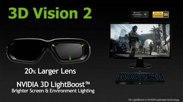 電腦平台的3D龍頭:nVidia推出3D Vision 2