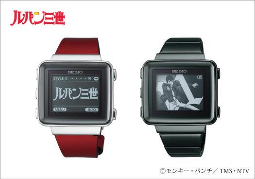 《魯邦三世》推出紀念手錶,採用電子紙技術超省電