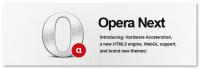Opera:12 Alpha 附加硬體加速