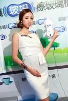 台灣發明與製造的擦玻璃機器人.........玻妞