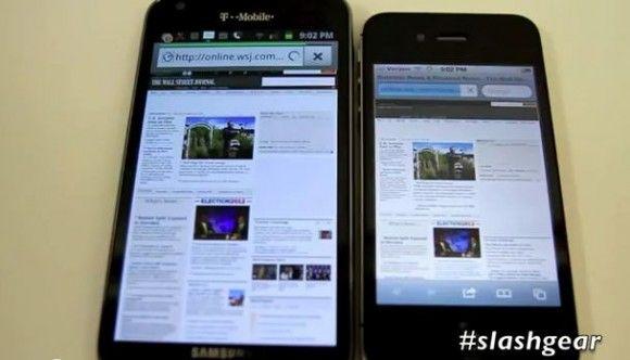 [香港] iPhone 4S vs Galaxy S2 網頁瀏覽速度比拼