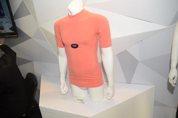 Computex 2014:紡織衣服材料也與科技結合,提供更為舒適的穿戴體驗