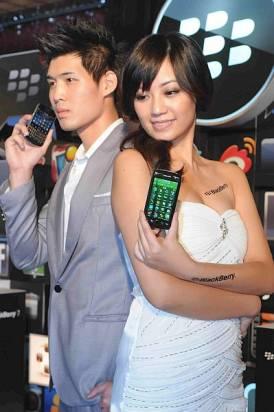 RIM 在台發表兩款黑莓手機 - BlackBerry Bold 9900 與 BlackBerry Torch 9860