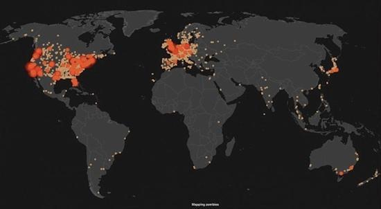 從這一張圖表,可以看得出來人們十分關心殭屍...的什麼?