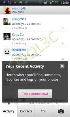 Flickr - 官方版Flickr終於到Android了