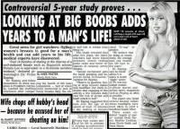 癮科學:研究說每天看女性胸部十分鐘可以促進循環,進而延年益壽,這你也信?