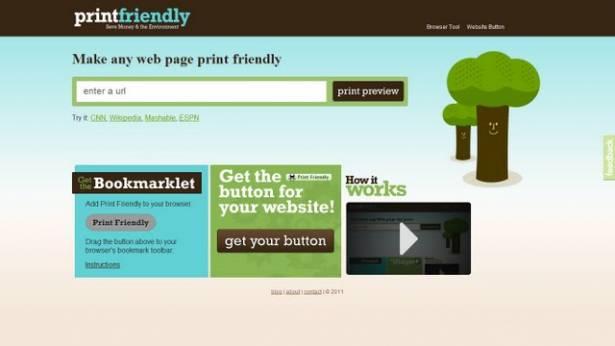 我只想印印網站的重點,有沒有不用手動過濾的方法?讓Print Friendly助你一臂之力!