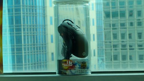 [簡單開箱]哈帝斯 電競滑鼠-新戰神PhorcysH8登場,特殊包裝帥氣造型