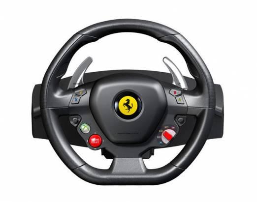 Xbox 360專屬 Ferrari 458 Italia方向盤!