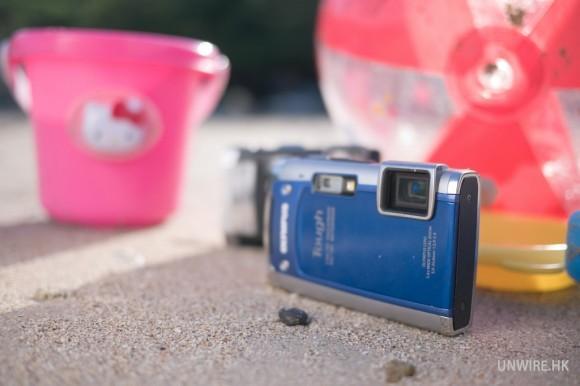 【香港】去海邊也要玩玩拍拍!防水數位相機拍攝小撇步