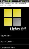 【香港】挑戰關掉所有燈光 -Android app《Lights Off》