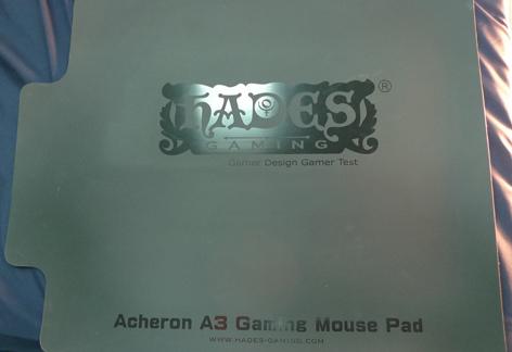 [開箱] HADES哈帝斯 A3L 電競鼠墊心得