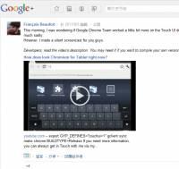 Chrome OS暗藏玄機,用在平板So Easy?