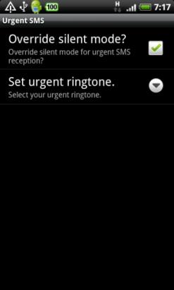 【香港】不會錯失緊急短訊--Android app《Urgent SMS》