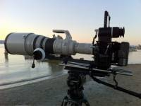 攝影界的紅白機組合 - RED Epic + Canon 600mm f4 EF