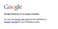 Google 字典服務又收起來了!?