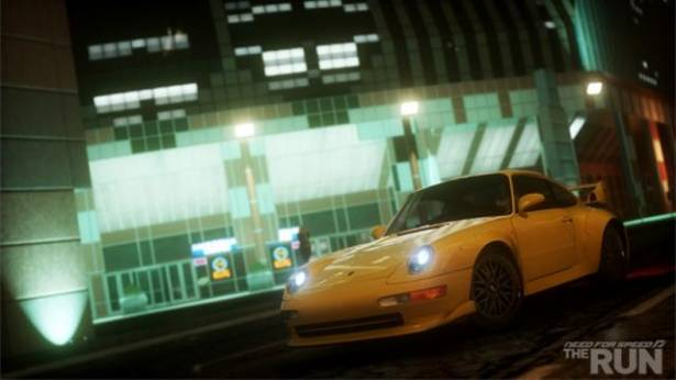 2012 Porsche 911 Carrera S出現在Need for Speed遊戲 - The Run的預告片中