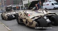 3輛蝙蝠車在街上趴趴走!
