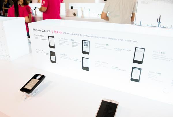 Computex 2014:液晶螢幕讓你眼睛疲勞?來試試電子紙 iPhone 保護蓋吧!